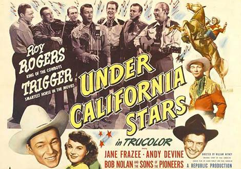 Bajo las estrellas de California