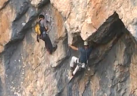 Escalada en los Pirineos