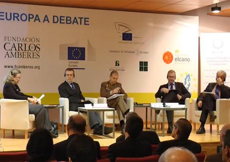 9ª Jornada Europa a debate: El futuro de la política de seguridad y defensa común de Europa
