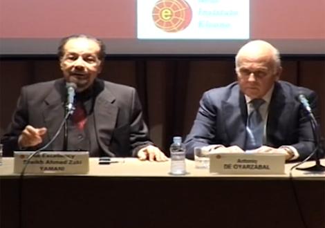 Conferencia sobre la OPEC del Jeque Hamad Zaqi Yamani