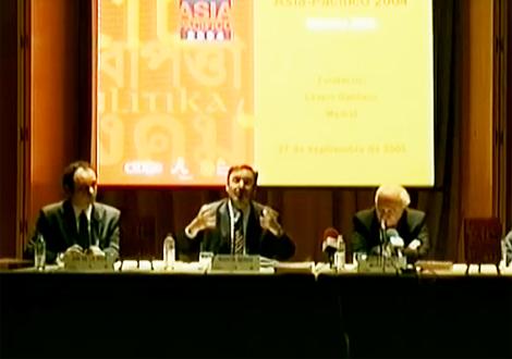 Presentación del Anuario Asia-Pacífico 2004